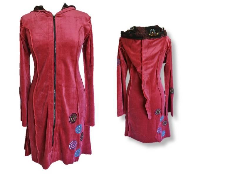 Jakke/kjole, Rød